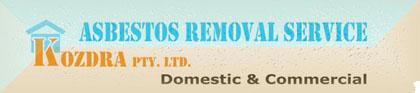 Asbestos Melbourne Removal Service - Kozdra Pty. Ltd logo
